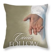 Christ's Hand Throw Pillow