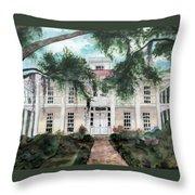 Christy's Eden Gardens Throw Pillow