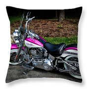 Chrome Galore Throw Pillow