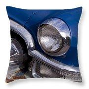 Chrome Inside Chrome On Rust   #4780 Throw Pillow