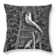 Chromium Slide Throw Pillow