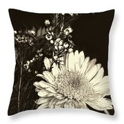 Chrysanthimum Throw Pillow