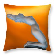 Chrysis Ornament Throw Pillow