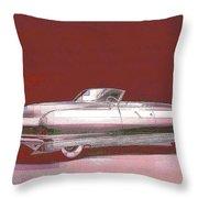 Chrysler 50's Concept Throw Pillow