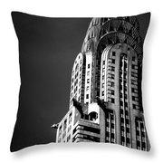 Chrysler Building Nyc 1 Throw Pillow