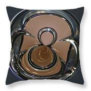 Chrysler Continental Kit Orb Throw Pillow