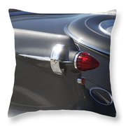 Chrysler Imperial Taillight Throw Pillow