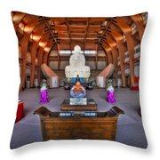 Chuang Yen Buddhist Monastery Throw Pillow