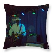 Chuck Berry And Charles Berry Jr. 2 Throw Pillow