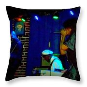 Chuck Berry Fam Jam Throw Pillow