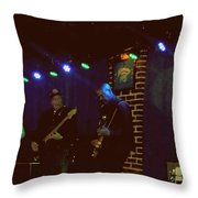 Chuck Berry's 199th Show Throw Pillow