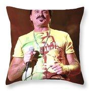 Chuck Negron Throw Pillow