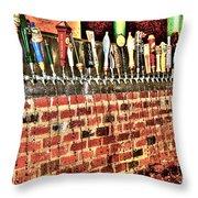 Chug Throw Pillow by Debbi Granruth