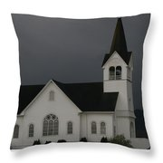 Church 2 Throw Pillow