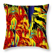 Church And Industry Throw Pillow