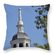 Church Architecture Throw Pillow