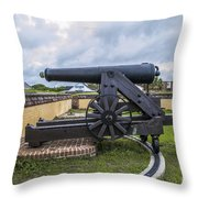 Church At Fort Moultrie Throw Pillow