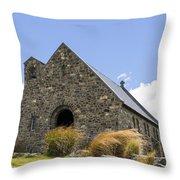 Church At Lake Tekapo Throw Pillow
