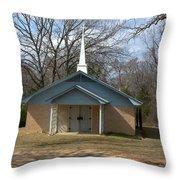 Church Bars Throw Pillow