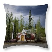 Church Beaver Creek Yukon Throw Pillow