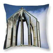 Church - Tower Bell - Luther Fine Art Throw Pillow