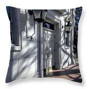 Church Doorway Throw Pillow