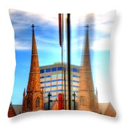 Church Downtown Denver 5074 Throw Pillow