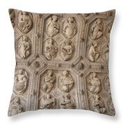 Church Frieze Throw Pillow