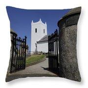 Church If Ireland Throw Pillow