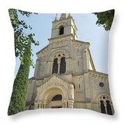 Church In Gordes Throw Pillow