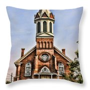 Church In Sprague Washington 2 Throw Pillow