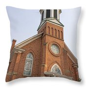 Church In Sprague Washington 3 Throw Pillow