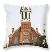 Church In Sprague Washington Throw Pillow