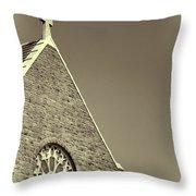 Church In Tacoma Washington 3 Throw Pillow