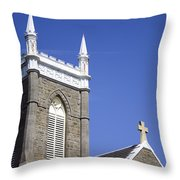 Church In Tacoma Washington 4 Throw Pillow