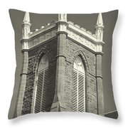 Church In Tacoma Washington Throw Pillow