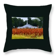 Church In The Fields Throw Pillow