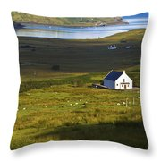 Church In The Glen Throw Pillow