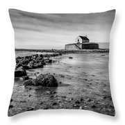 Church In The Sea Throw Pillow