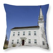 Church In Westerlo Throw Pillow