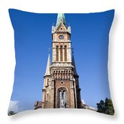 Church Of Ferencvaros In Budapest Throw Pillow