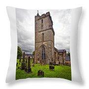 Church Of Holy Rude Throw Pillow