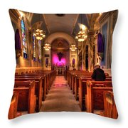 Church Of Saint Louis Throw Pillow