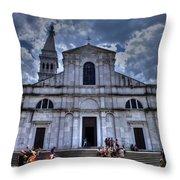 Church Of St. Euphemia Throw Pillow