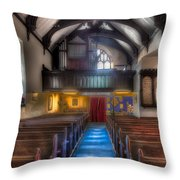 Church Of St Mary Throw Pillow by Adrian Evans
