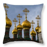 Church Of The Nativity Of Moscow Kremlin Throw Pillow