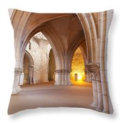 Church Of The Sao Francisco Convent Throw Pillow