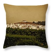 Church On The Hill - Andalusia Throw Pillow