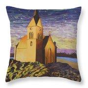 Church On The Rocks.  Throw Pillow