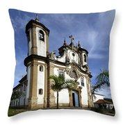 Church Ouro Preto Brazil 5 Throw Pillow